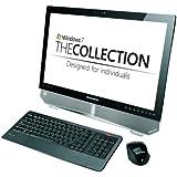 Lenovo IdeaCentre B520 23 inch Multi touch All-in-One Desktop PC (Intel Core i3 2100 3.1GHz, RAM 4GB, HDD 1TB, DVDRW, WLAN, Webcam, TV Tuner, BT, Windows 7 Home Premium) - Black