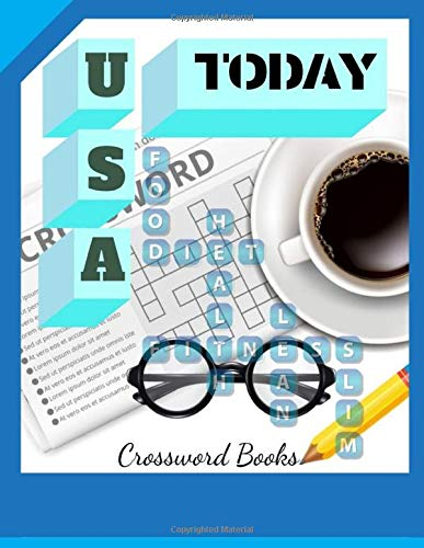 Usa Today Crossword Books: Puzzles & Trivia Challenges Specially Designed to Keep Your Brain Young  (Puzzlewright Junior Crosswords)
