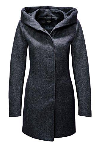 ONLY NOS Damen Mantel Onlsedona Light Coat Otw Noos, Grün (Green Gables Detail:Melange), 36 (S)