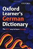 OXFORD LEARNERS GERMAN DICTIONARY (Oxford Learner's Dictionary)