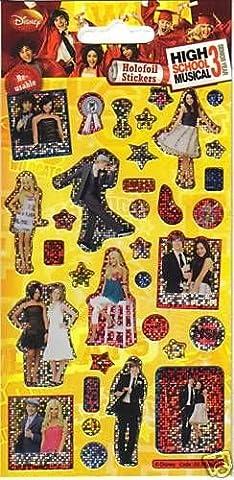 HSM High School Musical 3 kleinen STICKER BOMB PACK (High School Musical-pack)