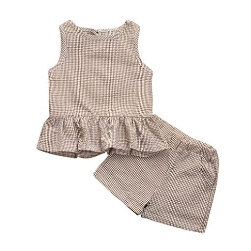Deloito Girls Jumpsuit,Baby Girls Summer Sleeveless Rompers Strap Romper Jumpsuit Harem Pants Clothes Outfits Dot Print Newborn Infants Bodysuit for 1-6 Years Toddler Kids Clothes Set