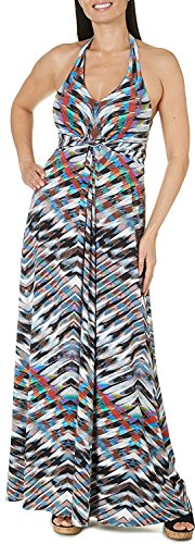 Fancy Jessica Simpson Jessica Simpson Women's Faux Knit Striped Halter Jersey Dress (Jersey Jessica Pullover)
