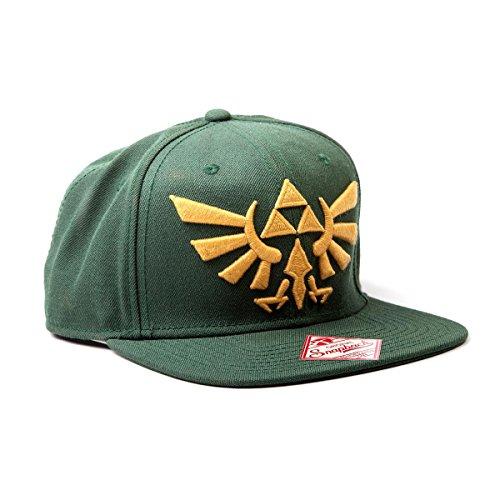 Nintendo Zelda Cap Mütze Green Logo Wide Bill Cap Schirmmütze The Legend Of Zelda Twilight Princess Gamer Cap