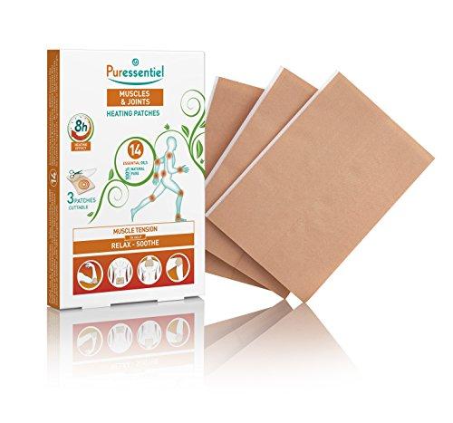 Puressentiel Muskeln und Gelenke Heizung Patches –, 3Stück (Aromatherapie-patches)