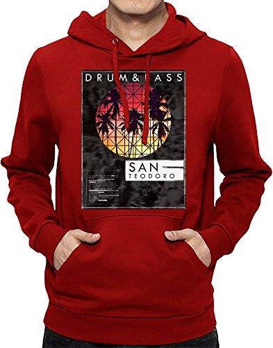 Drum & Bass - San Teodoro Männer Hoodie XX-Large