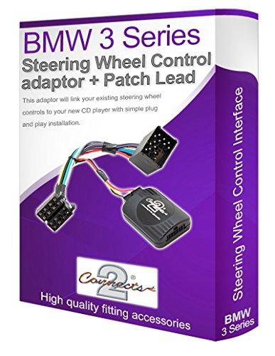 BMW Série 3 E46 stéréo de voiture Adaptateur de commande au volant pour connecter vos commandes