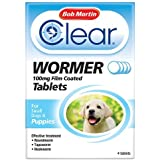 Bob Martin Clear Wormer Tablets for Puppies, 4 Tablets