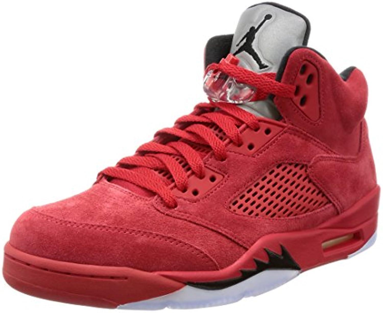 Nike   Jordan V Retro   136027602   Farbe: Rot   Größe: EU 44 US 10 UK 9