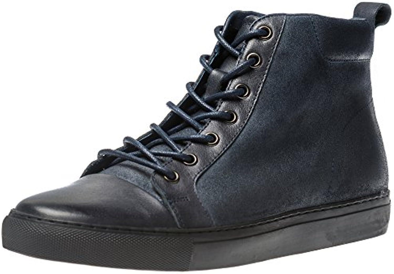 Yolkomo Klassische Herren Chukka Boots Modernes Design High Top Sneaker Kalbsleder Round Toe StiefelYolkomo Klassische Stiefel Kalbsleder Modernes
