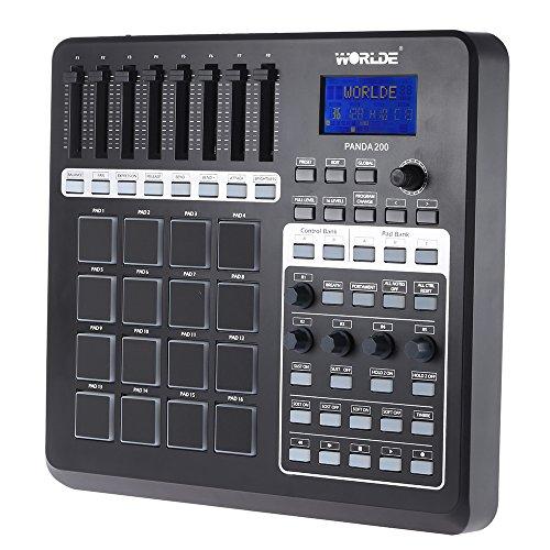 ammoon panda200tragbar USB MIDI Controller-Pad 16Drum Pads mit USB-Kabel