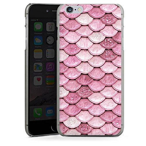 Apple iPhone 7 Plus Silikon Hülle Case Schutzhülle Schuppen Meerjungfrau Mermaid Hard Case anthrazit-klar