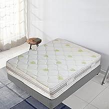 Bioconfort–Colchón Muelles ensacados 26cm–espuma memoria de forma–independencia dormir, Maxi Confort, 140 x 190 cm