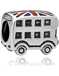 Charm Bus Kingdom - Charms 5 microns compatible toutes marques