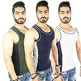 #5: White Moon Cotton Gym vest 999 Sleveless Vest (pack of 3)