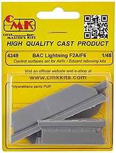 CMK 4349-Accesorios de construcción Bac Lightning F2A/F6de Control Surfaces Set