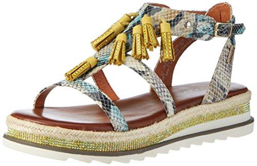 bugatti-j93856r-sandales-compensees-femme-jaune-gelb-natur-505-42-eu