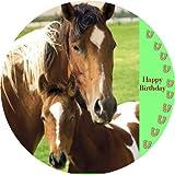 Tortenaufleger Pferde 01