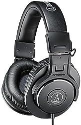 Audio-technica Headphones, Pro Studio Monitor Black