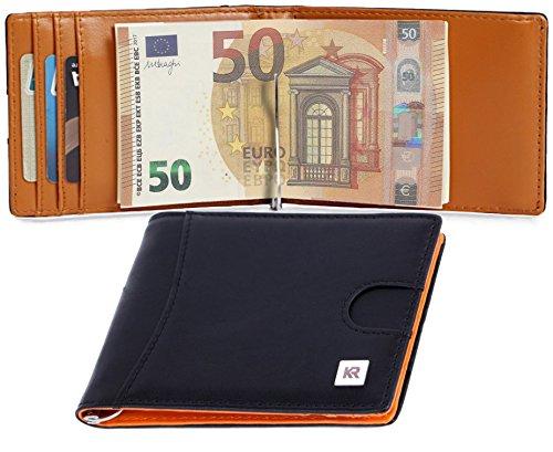 KRONIFY Portefeuille homme avec Poche à Monnaie +...