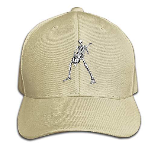 Osmykqe Halloween Party Cool Skul Summer Quick Drying Sport Cap Running Caps Tennis Hat (Halloween Aces Running)