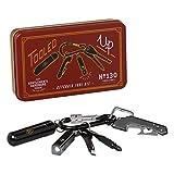 Gentlemen's Hardware Key Chain Mini Tool Kit - Brown