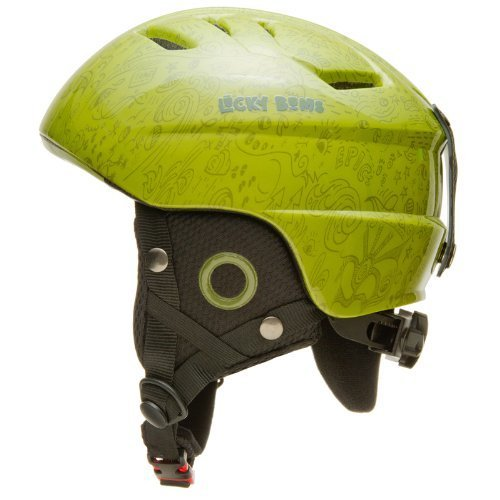lucky-bums-kids-alpine-series-doodlebug-helmet-grass-med-large-50-52cm-by-lucky-bums