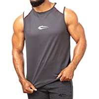 SMILODOX Tank Top Straight Herren 'Foul' | Kurzarm | Casual Top | Funktionstank für Sport Fitness Gym & Training | Trainingsshirt - Lauftop - Sporttank mit Logo