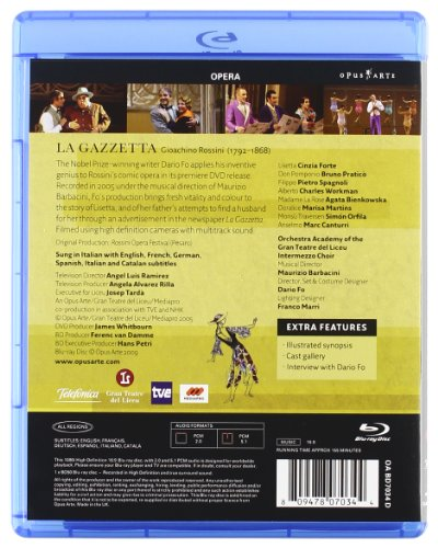 La Gazzetta [Blu-Ray] [Import Italien]