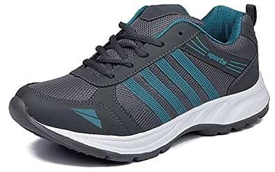 JABRA Men's Orange Synthetic Running Shoes - 10