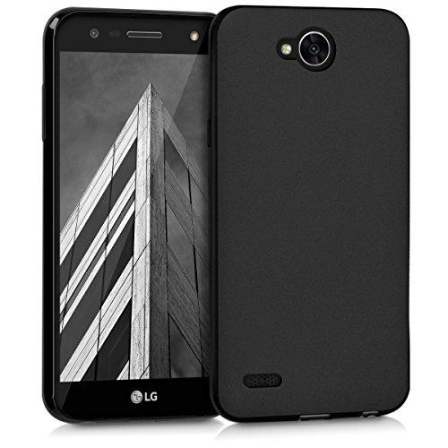 kwmobile LG X Power 2 Hülle - Handyhülle für LG X Power 2 - Handy Case in Schwarz matt