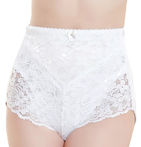 medium-control-briefs-ladies-lace-floral-knickers-white-black-elastane-womens