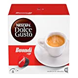 Nescafé Dolce Gusto Espresso Buondi, Bondi, Kaffee, Kaffeekapsel, 3er Pack, 3 x 16 Kapseln