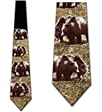 Photo de Grizzly Bears Tie Mens Cravate par Emersons
