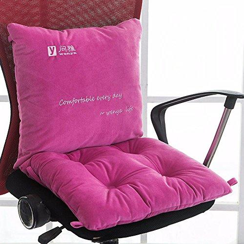 Preisvergleich Produktbild Sitzkissen Kissen Ein Student Verdickung Computer Stuhl Stuhl Kissen Büro Atmungsaktives Polster Sommer,  Niedlich Pulver,  Herbst Und Winter Modelle 50 Cm X 100 Cm