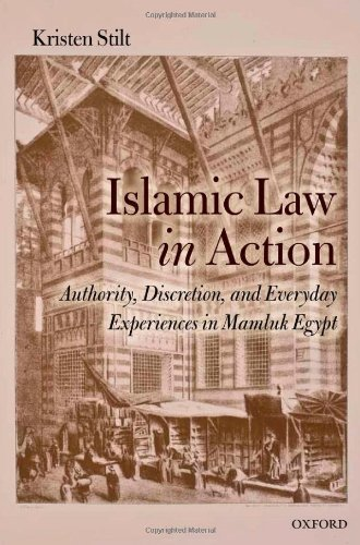 Islamic Law in Action: Authority, Discretion, and Everyday Experiences in Mamluk Egypt by Kristen Stilt (2012-03-21)
