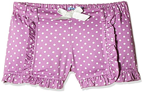 Nauti Nati Baby Girls' Shorts (NSS16-707_Purple_6 - 12 Months)