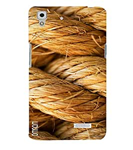 Omnam Rope Art Pic Printed Designer Back Cover Case For Oppo R7