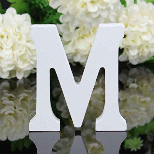 zbuchstaben Alphabet Wandbehang Hochzeit Home Shop Dekoration ()