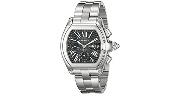 747c0a2db33 Buy Cartier Men s W62020X6 Roadster Automatic Chronograph Watch Online at  Low Prices in India - Amazon.in