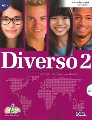 Diverso. Libro del alumno-Ejercicios. Con espansione online. Con CD Audio. Per le Scuole superiori: Diverso 2 + CD