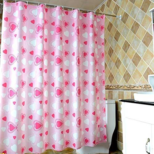 FDCC Erru Duschvorhang Dick undurchlässig für den Test Der ildewproof und Warm halten die Vorhänge Bad WC Partition (wasserdicht Größe: 200 cm * 200 cm)