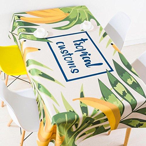 Nappes fraîches Nappes en coton Nappes de table Nappes pastorales simples rectangulaires / rondes , 003 , 85*85cm