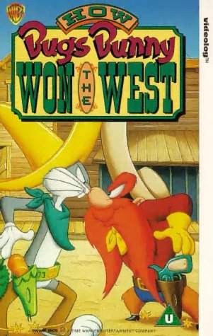 bugs-bunny-how-bugs-bunny-won-the-west-vhs