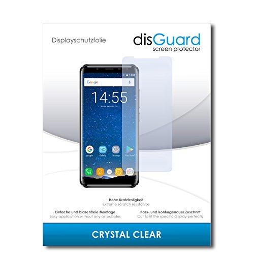 disGuard® Bildschirmschutzfolie [Crystal Clear] kompatibel mit Oukitel K5000 [2 Stück] Kristallklar, Transparent, Unsichtbar, Extrem Kratzfest, Anti-Fingerabdruck - Panzerglas Folie, Schutzfolie