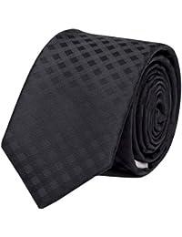 Étroit Cravate de Fabio Farini en noir