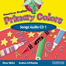 American English Primary Colors 1 Songs CD (Primary Colours)