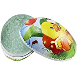 COM-FOUR® MEGA uovo di Pasqua XXL per il riempimento in diversi motivi pasquali enormi 26,5 cm (01 pezzo - filetto)