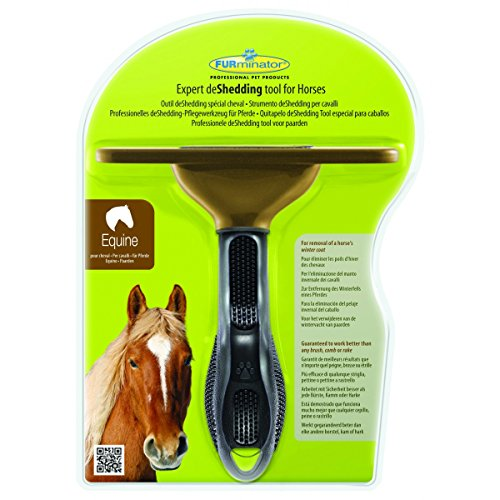 Preisvergleich Produktbild Furminator Enthaarungsbürste für Pferde,  ideal zur Entfernung des Winterpelzes