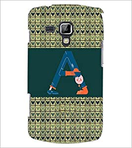 Printdhaba Grandbet A D-4651 Back Case Cover For Samsung Galaxy S Duos 2 S7582